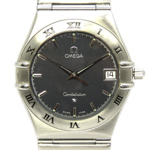 OMEGA Omega Constellation Watch Boys Quartz Stainless Steel SS