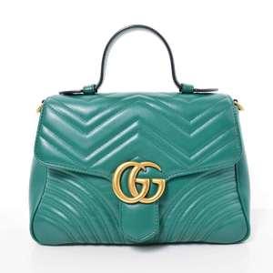 BR Rakuichi Main Store GUCCI Gucci Marmont Chain Bag Leather
