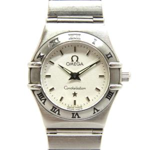 OMEGA Omega Constellation Watch Ladies Quartz Stainless Steel SS