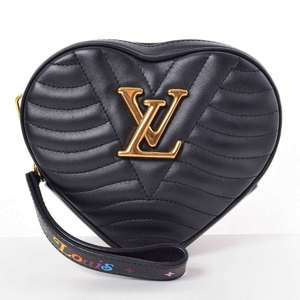 BR Rakuichi Main Store LOUIS VUITTON Louis Vuitton New Wave Heart Shoulder Bag Leather