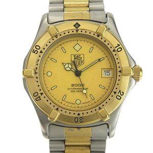 B Rakuichi Net Store TAG HEUER Heuer Professional 2000 Men's Quartz Wrist Watch 964.013