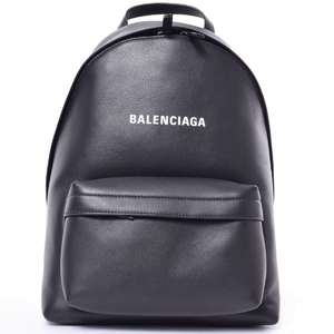BR Rakuichi Main Store BALENCIAGA Leather Everyday Backpack