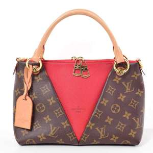 BR Rakuichi Main Store LOUIS VUITTON Louis Vuitton Monogram V Tote BB Threes Leather