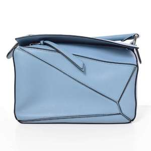 BR Rakuichi Main Store LOEWE Loewe Puzzle Leather 2WAY Shoulder Bag