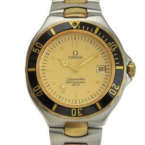 B Rakuichi Net Store OMEGA Omega Seamaster Diver Men's Quartz Wrist Watch 2650.1 Junk