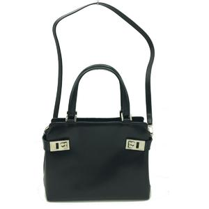 Salvatore Ferragamo Shoulder Bag Handbag Ladies Calf
