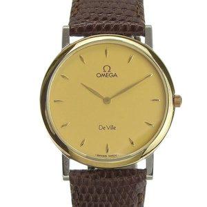 B Rakuichi Net Store OMEGA Omega Devil Men's Quartz Wrist Watch