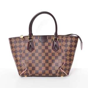 BR Rakuichi Main Store LOUIS VUITTON Louis Vuitton Damier Kaisato Tote PM Leather
