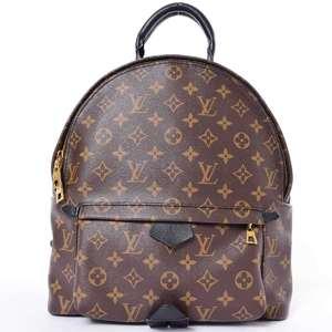 BR Rakuichi Main Store LOUIS VUITTON Louis Vuitton Monogram Palm Springs Backpack MM Leather