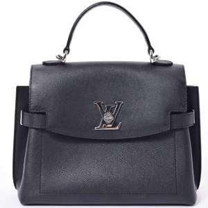 BR Rakuichi Main Store LOUIS VUITTON Louis Vuitton Calf Rock Me Eva-BB Noir 2WAY Leather