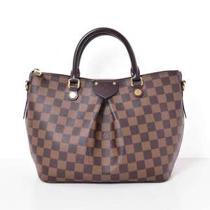 BR Rakuichi Main Store LOUIS VUITTON Louis Vuitton Damier Siena PM Shoulder Bag Leather