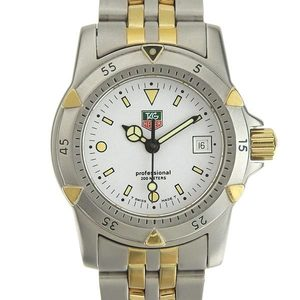 B Rakuichi Net Store TAG HEUER Heuer Professional Ladies Quartz Wrist Watch 955.705