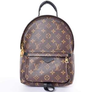 BR Rakuichi Main Store LOUIS VUITTON Louis Vuitton Monogram Palm Springs Backpack PM Leather