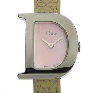 B Rakuichi Net Store CHRISTIAN DIOR Dior Simply Ladies Quartz Wrist Watch Shell Dial D101110