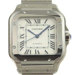 Cartier Santos de MM Mens Automatic Watch WSSA0010