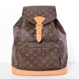 BR Rakuichi Main Store LOUIS VUITTON Louis Vuitton Monogram Monsuri Backpack Leather