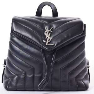 BR Rakuichi Main Store SAINT LAURENT Saint Laurent Lulu Backpack Mini Leather