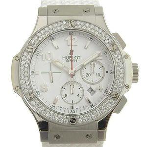 B Rakuichi Main Store Genuine HUBLOT Hublot Big Bang St Moritz Men's Automat Watch Diamond Bezel 301.SE.230.RW.114