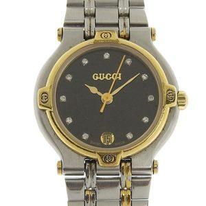 B Rakuichi Net Store GUCCI Gucci 11P Diamond Ladies Quartz Watch Dial 9000L