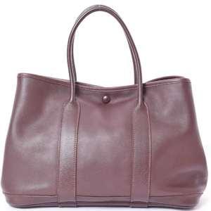BR Rakuichi Main Store HERMES Hermes Swift Garden Twill TPM Havana Handbag Leather