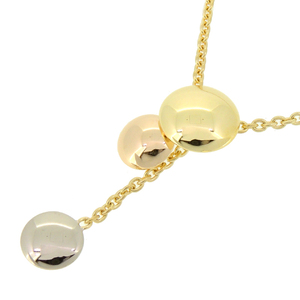 Cartier Sweet Trinity Ladies Necklace 750 Yellow Gold