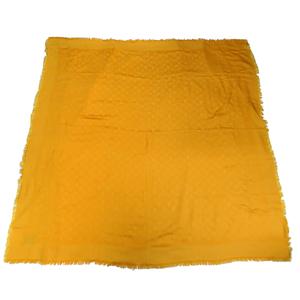 Louis Vuitton Large Stole Women's Men's Scarf Yellow