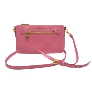Prada Mini Shoulder Bag SAFFIANO LUX Ladies BT0834 Safir Norx GERANIO