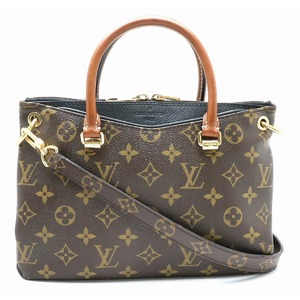 LOUIS VUITTON Louis Vuitton Monogram Pallas BB Handbag 2WAY Shoulder Bag Noir M41218