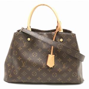 LOUIS VUITTON Louis Vuitton Monogram Montaigne MM Handbag One Shoulder Semi 2WAY M41056