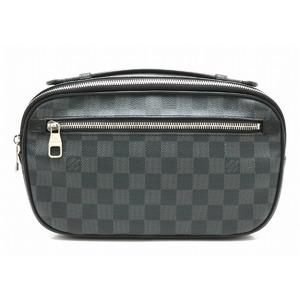 LOUIS VUITTON Louis Vuitton Damier Graphite Ambler 2WAY Body Bag Shoulder Clutch N41289