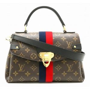 LOUIS VUITTON Louis Vuitton Monogram Georges BB Handbag Shoulder Bag 2WAY Marine Threes M43867