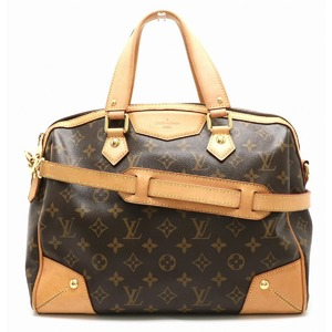 LOUIS VUITTON Louis Vuitton Monogram Retiro PM Tote Bag Handbag 2WAY Shoulder M40325