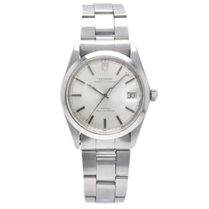 TUDOR Prince Oyster Date Steel Automatic Silver Dial 9050 0