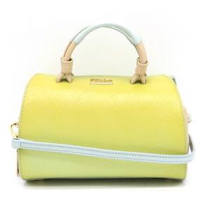 FURLA Furla Handbag 2WAY Shoulder bag Semi-shoulder embossed leather