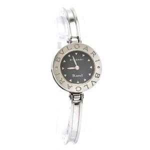 BVLGARI Bvzero1 B-zero1 Black Dial Bangle M size Ladies quartz watch BZ22S