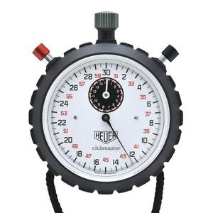 HEUER Heuer Club Master Stopwatch White Dial Manual winding 8022