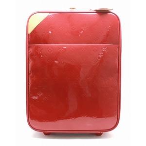LOUIS VUITTON Louis Vuitton Monogram Verni Pomme Dour Pegas 45 Suitcase Carry Bag Travel Case M91278