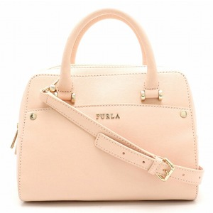 FURLA Furla handbag shoulder bag 2WAY leather CAMELIA e baby pink