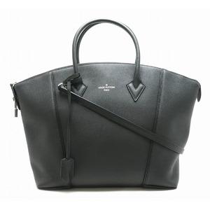 LOUIS VUITTON Louis Vuitton Parnacea Lock It MM Tote Bag 2WAY Shoulder Vocasimir Leather Noir M94592