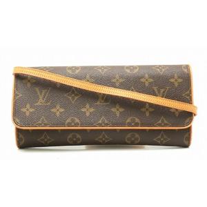 LOUIS VUITTON Louis Vuitton Monogram Pochette Twin GM Shoulder Bag Clutch M51852