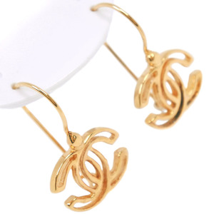 CHANEL Coco Mark GP Gold Ladies Earrings