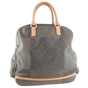 LOUIS VUITTON Louis Vuitton Avanturier Sports Bag M93060 Damier Jean Canvas Tail Green Unisex Boston
