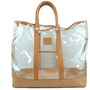 LOUIS VUITTON Louis Vuitton 100th Anniversary Isaac Mizurahi ISSAC MIZRAHI M99027 Vinyl Leather Brown Unisex Tote Bag