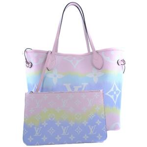 LOUIS VUITTON Louis Vuitton Neverfull MM Escal 2020SS Limited M45270 Monogram Pastel Ladies Tote Bag S Rank
