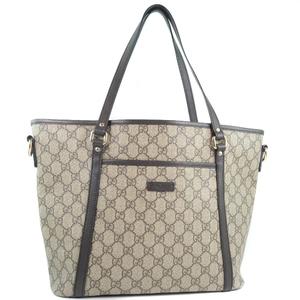 GUCCI Gucci 388929 GG Supreme Canvas Women's Tote Bag