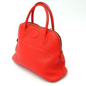 HERMES Hermes Borido 31 T engraved handbag pink Taurillon bag 2020016