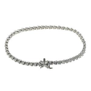Tiffany & Co. Victoria Diamond Bracelet Platinum PT950 2010004