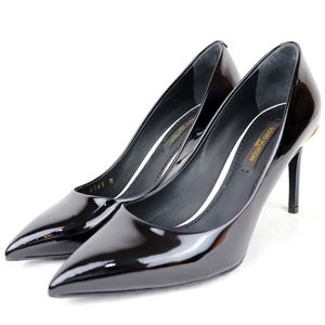 Louis Vuitton 2015 Patent Leather Pointed Toe Heel Pumps 34.5R2-2764