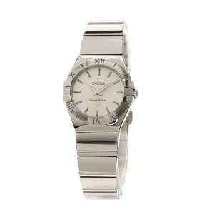 Omega 123.10.24.60.02.002 Constellation 24mm Watch Stainless Steel SS Ladies OMEGA