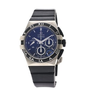 Omega 121.92.35.50.01.001 Mission Hills World Cup Watch Titanium Rubber Ladies OMEGA